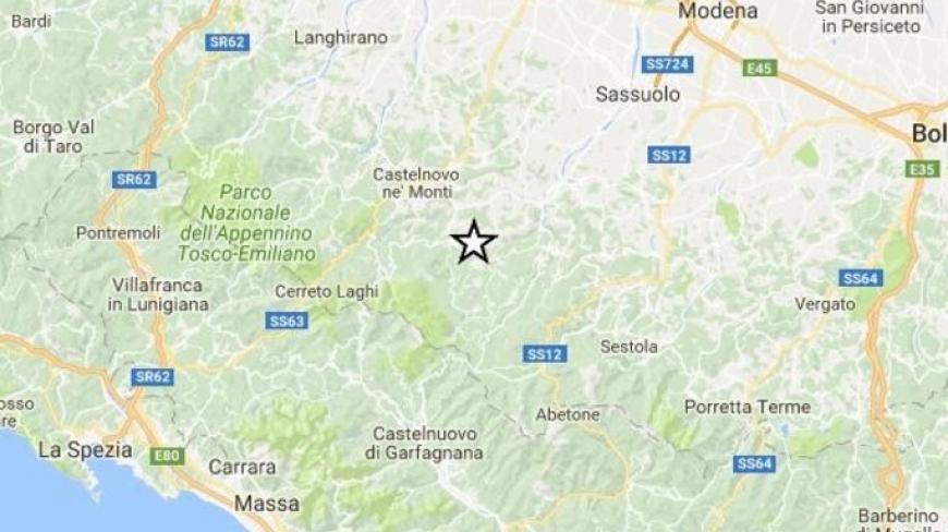 Terremoto, scossa di magnitudo 4 tra Reggio Emilia e Modena