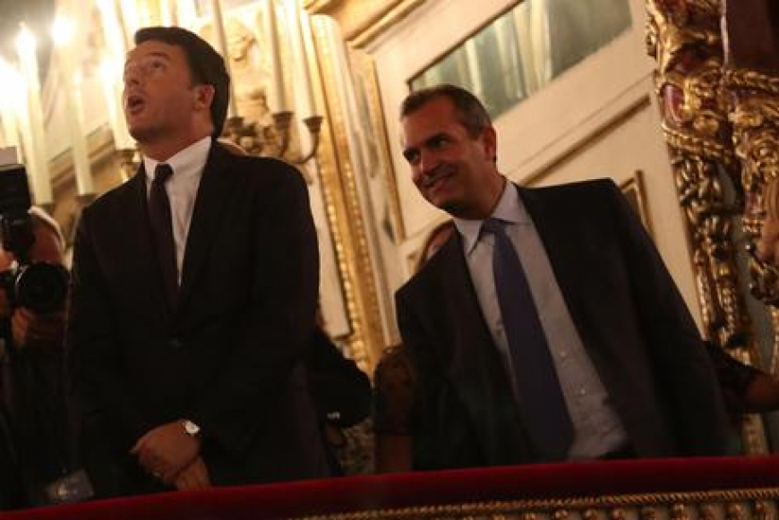 Tregua tra Renzi e De Magistris