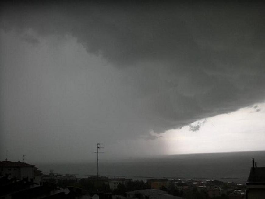 Protezione civile regionale, nuova allerta meteo per temporali